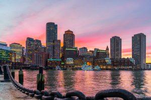 Rendon Boston Cityscape